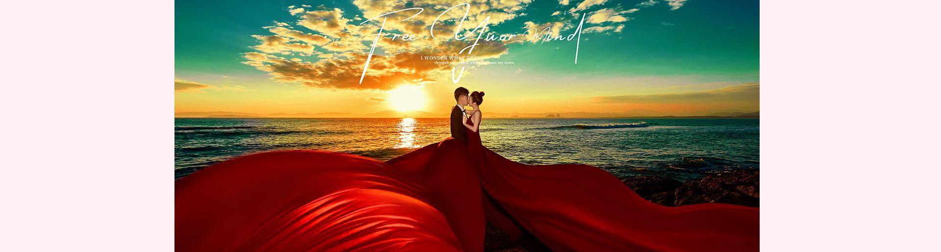 三亞婚紗攝影飄視覺新作品